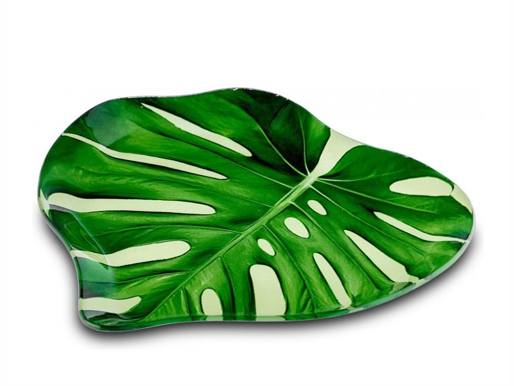 Блюдо Walmer Fat Broad Leaf 23x24cm 22300003