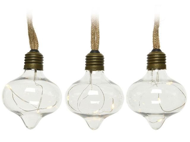 Гирлянда Kaemingk Лампочки-луковки 30 тёплых микро LED-огней 2.7+3m 480354/172134