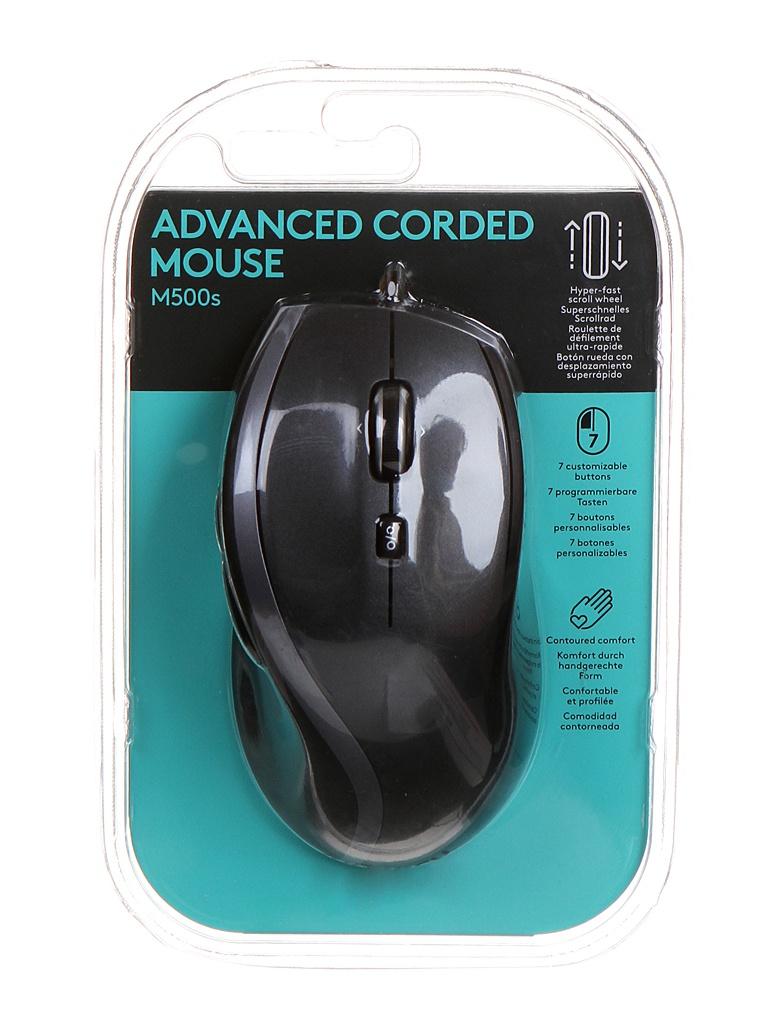 Мышь Logitech M500s Black 910-005784