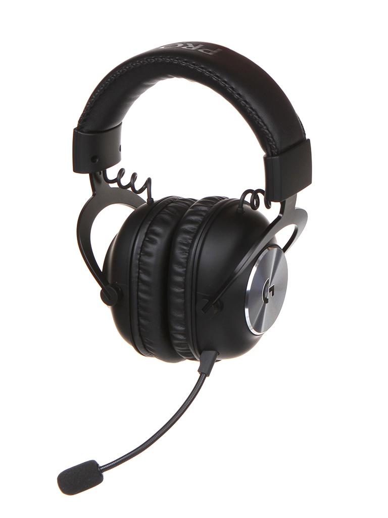 Наушники Logitech Pro X Lightspeed Black 981-000907
