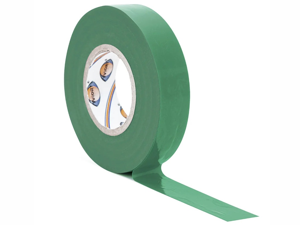 Изолента Aviora 15mm x 20m Green 305-062