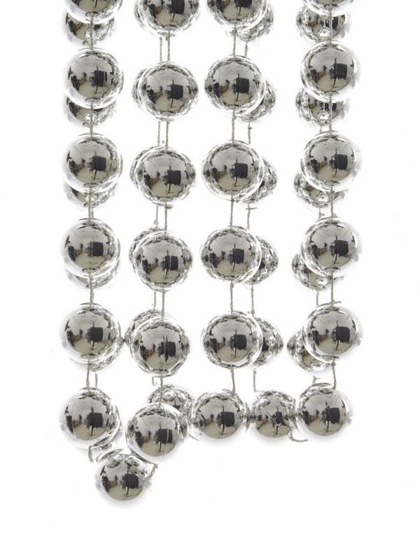 Бусы Kaemingk Гигант 2.7m Silver 001710/167283