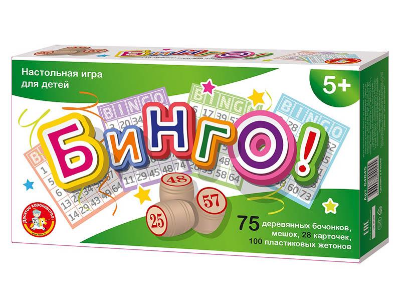 Настольная игра Десятое Королевство Бинго 04045