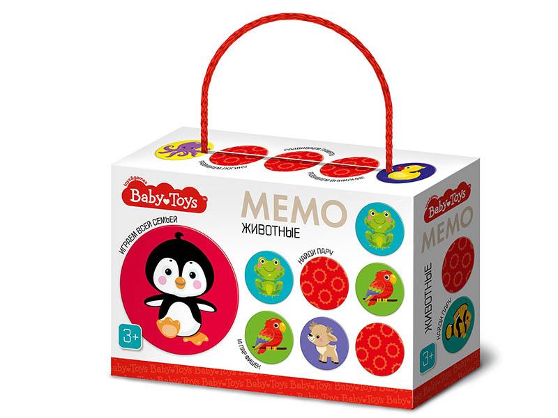 Настольная игра Десятое Королевство Мемо Животные Baby Toys 04051