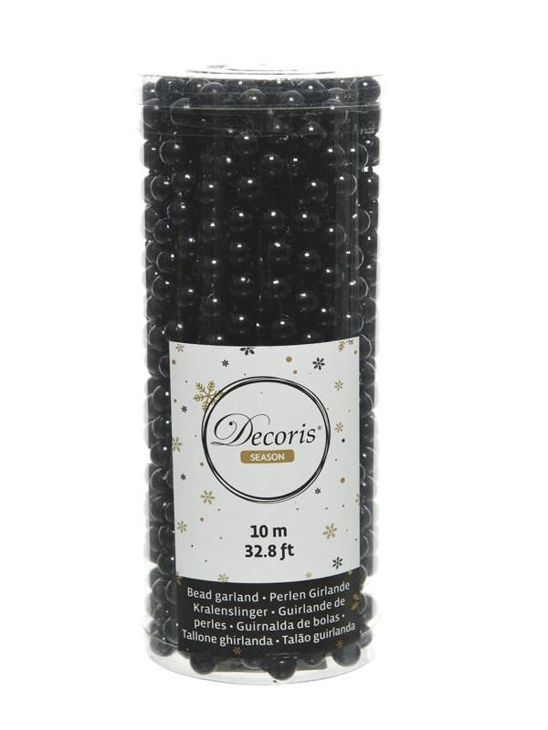 Бусы Kaemingk Цветной бисер 10m Black 000703/167272