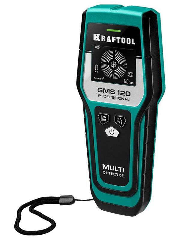 Детектор Kraftool GMS 120 45298