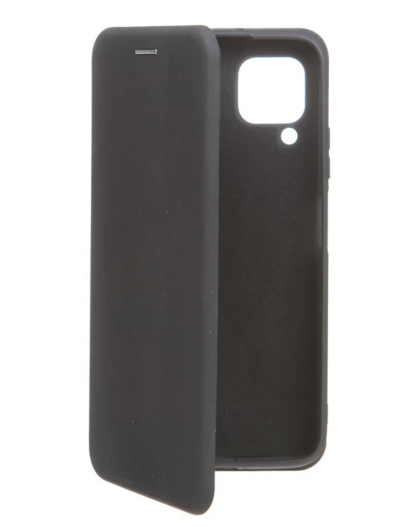 Чехол Krutoff для Huawei P40 Lite Soft Book Black 10577