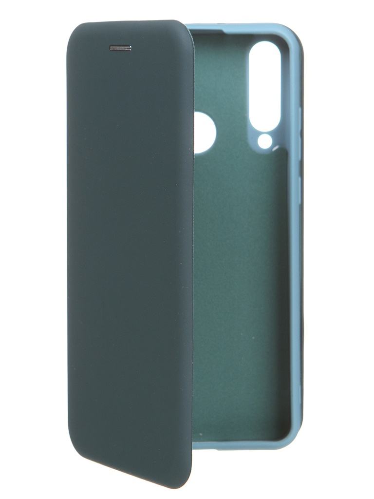 Чехол Krutoff для Huawei Y6p Soft Book Green Opal 10515