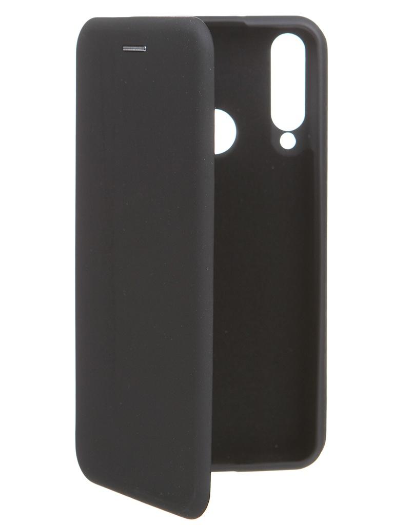 Чехол Krutoff для Huawei Y6p Soft Book Black 10518