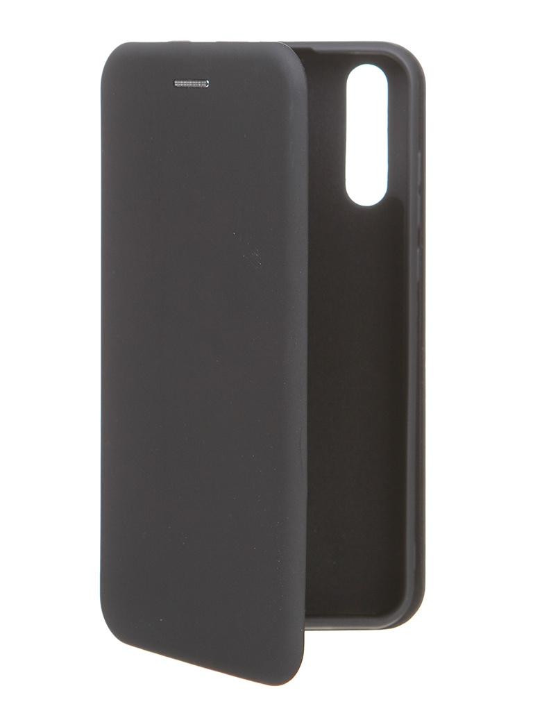 Чехол Krutoff для Huawei Y8p / Honor 30 Soft Book Black 10522