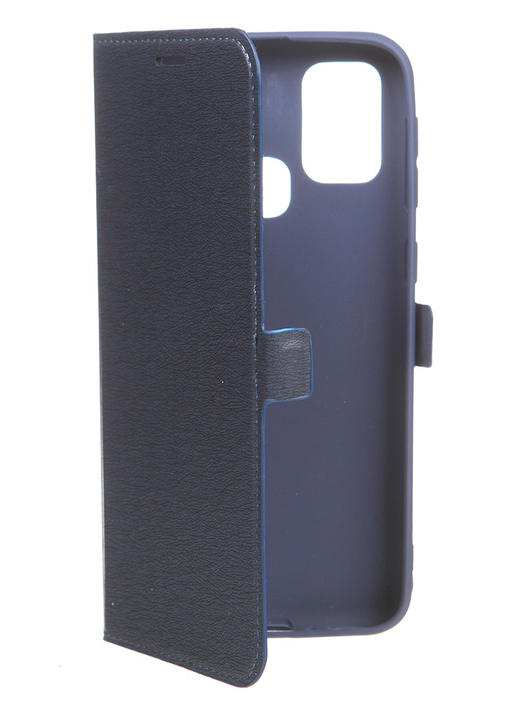 Чехол Krutoff для Samsung Galaxy M31 (M315) Soft Book Blue 10573