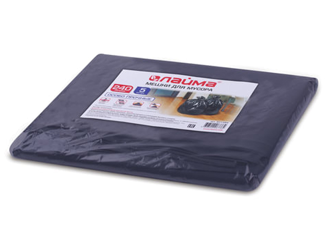 Пакет Лайма 240L 5шт Black 601394