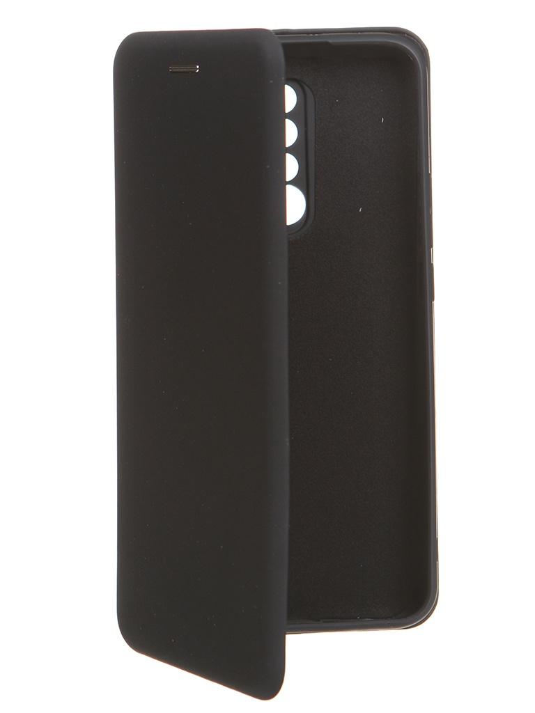 Чехол Krutoff для Xiaomi Redmi 9 Soft Book Black 10551