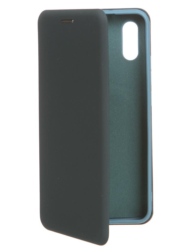 Чехол Krutoff для Xiaomi Redmi 9A Soft Book Green Opal 10552