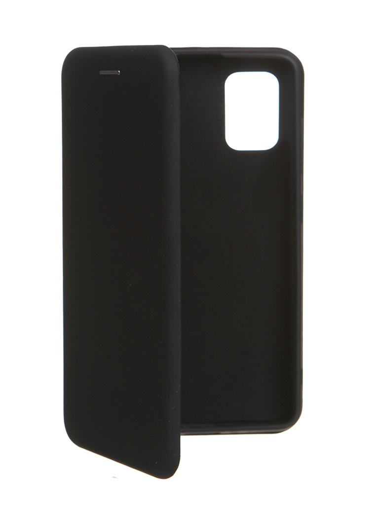 Чехол Krutoff для Samsung A41 Soft Book Black 10578