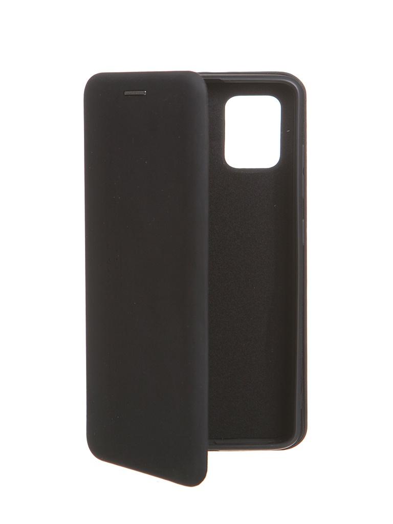 Чехол Krutoff для Samsung A51 Soft Book Black 10534