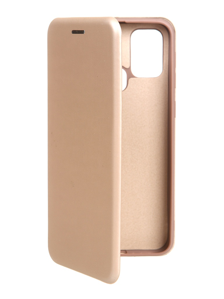 Чехол Krutoff для Samsung M31 Soft Book Gold 10536