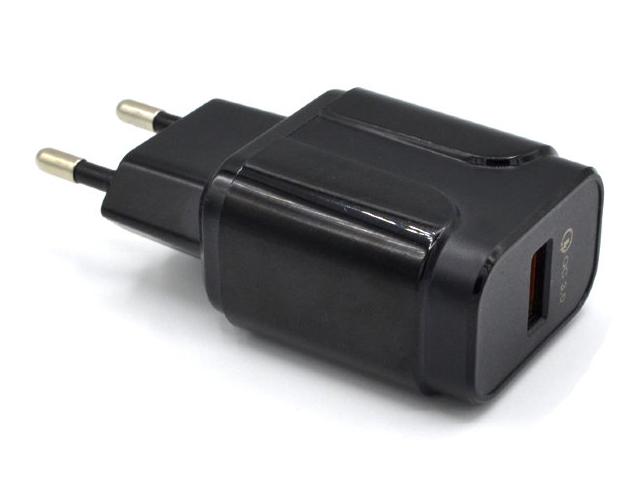 Зарядное устройство Innovation LZ-023 USB QC 3.0 Black 17909