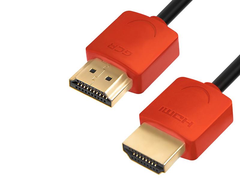 Аксессуар Greenconnect Slim HDMI 2.0 30cm Red GCR-51602