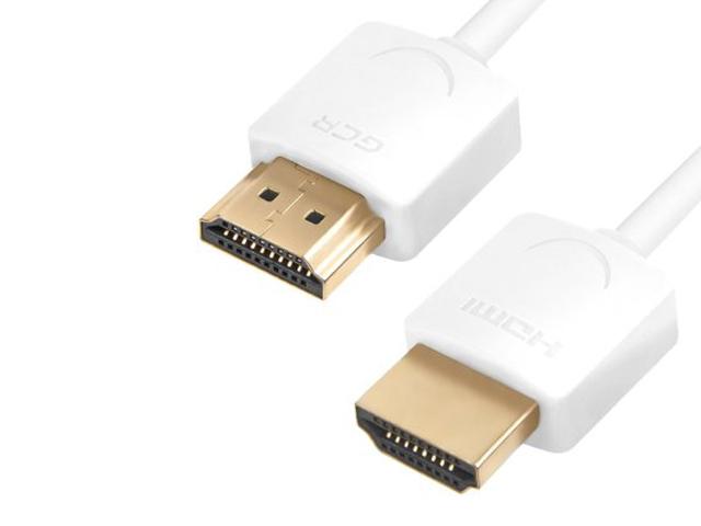 Аксессуар Greenconnect Slim HDMI 2.0 1m White GCR-51481