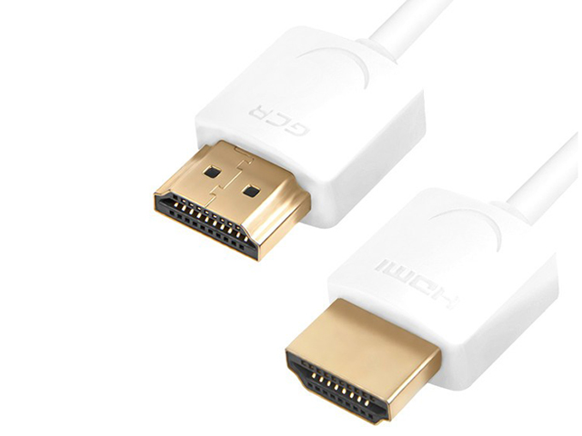 Аксессуар Greenconnect Slim HDMI 2.0 50cm White GCR-51480