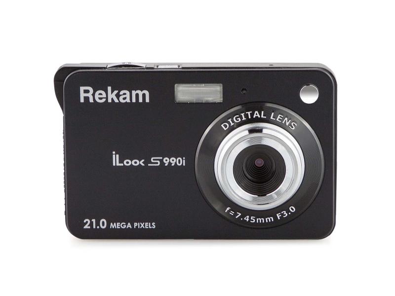 Фото - Фотоаппарат Rekam iLook S990i Black фотоаппарат