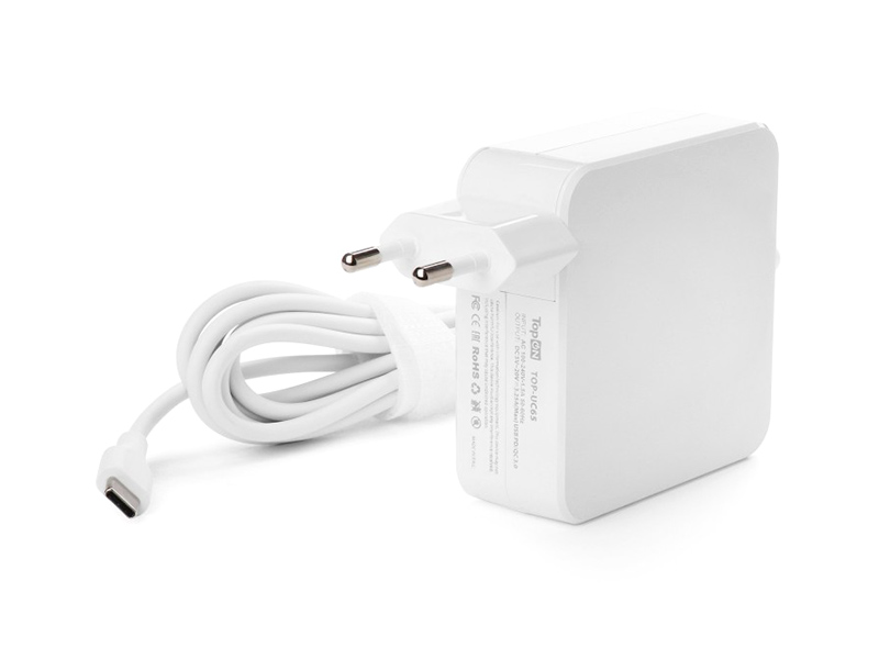 Аксессуар Блок питания TopON для APPLE MacBook 65W Type-C TOP-UC65