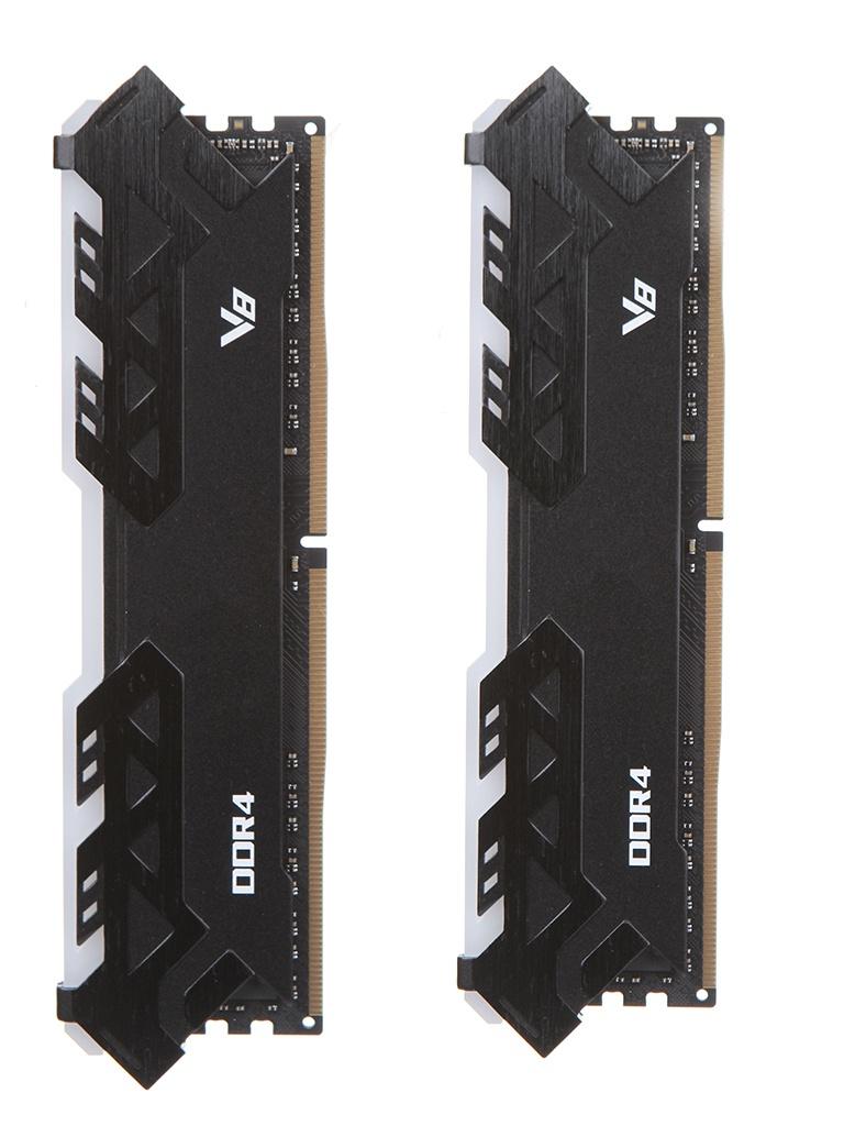 Модуль памяти HP V8 RGB Series DDR4 DIMM 3200MHz CL16 - 16Gb Kit (2x8Gb) 8MG02AA#ABB