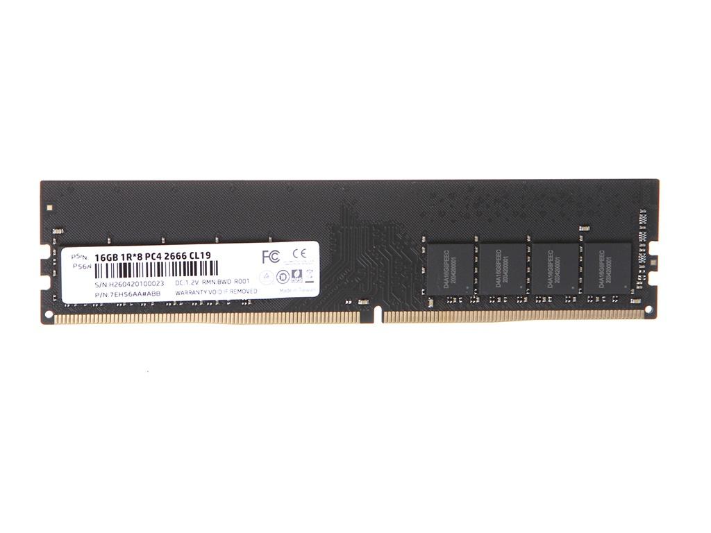 Модуль памяти HP V2 series DDR4 DIMM 2666MHz Non-ECC 2Rx8 CL19 - 16Gb 7EH56AA#ABB