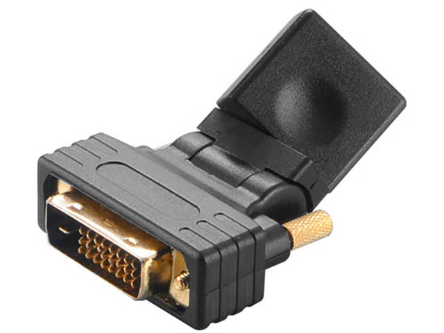 Аксессуар Akasa DVI-D - HDMI AK-CBHD16-BK