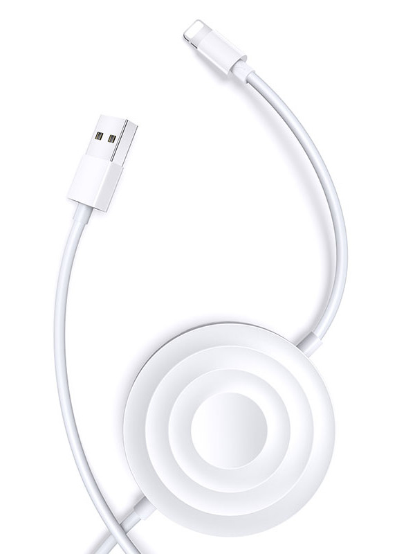 Зарядное устройство Usams US-CC096 USB - Lightning 2A White CC96WH02 / УТ000019964