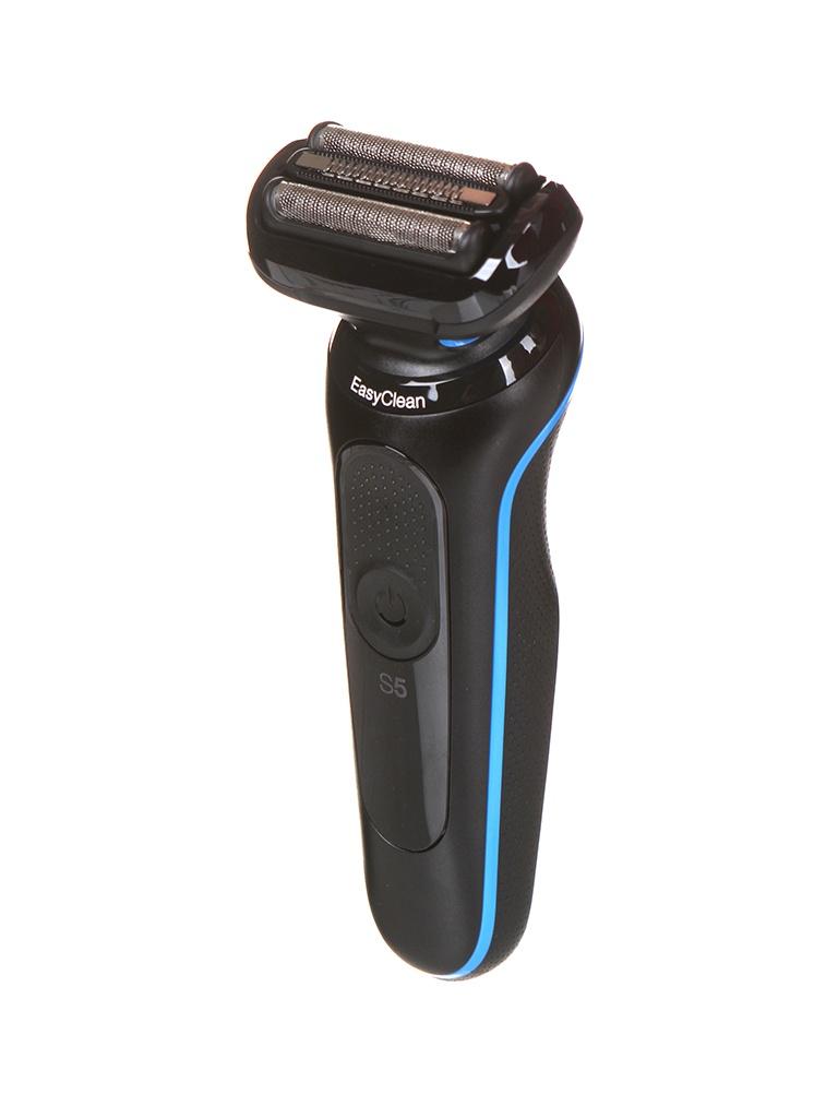 Электробритва Braun Series 5 50-B1000S Black-Blue