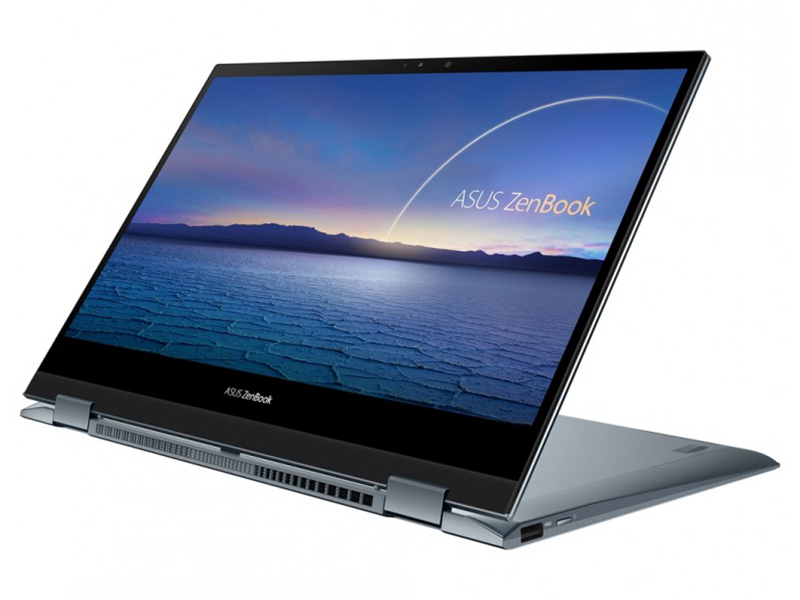 Ноутбук ASUS ZenBook Flip 13 UX363EA-EM079T 90NB0RZ1-M01050 (Intel Core i7-1165G7 2.8 GHz/16384Mb/512Gb SSD/Intel Iris Xe Graphics/Wi-Fi/Bluetooth/Cam/13.3/1920x1080/Touchscreen/Windows 10 Home 64-bit)
