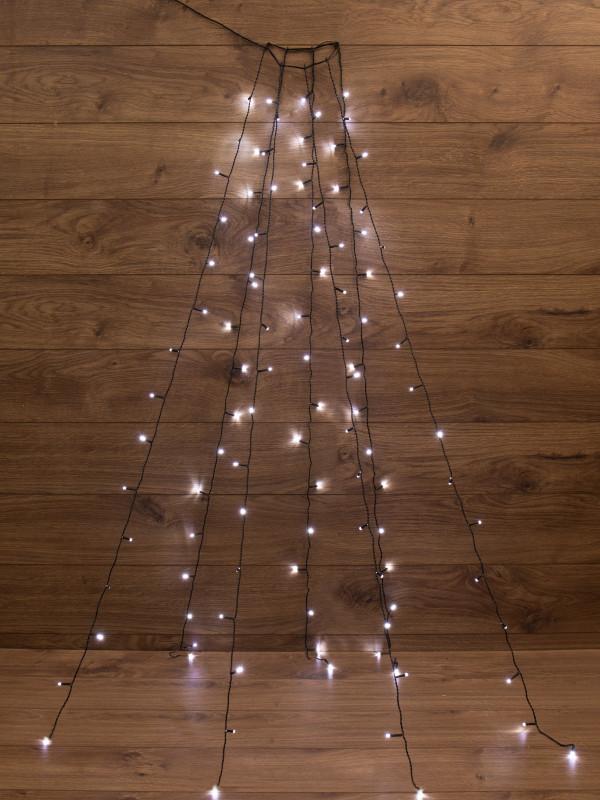 Гирлянда Neon-Night 7 нитей по 1,5m White 235-075
