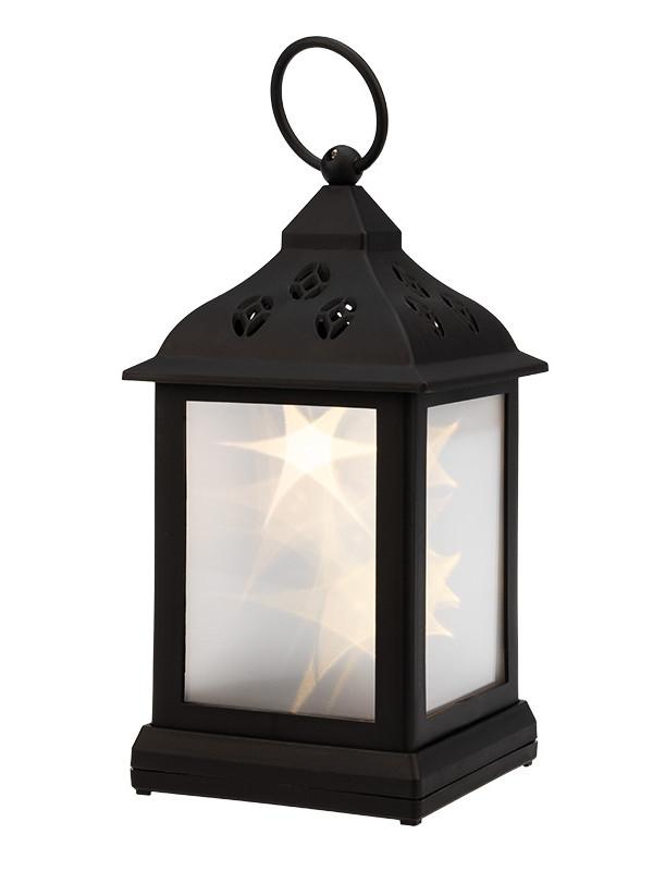 Светящееся украшение Neon-Night Декоративный фонарь 11х11х22.5cm Black 513-065