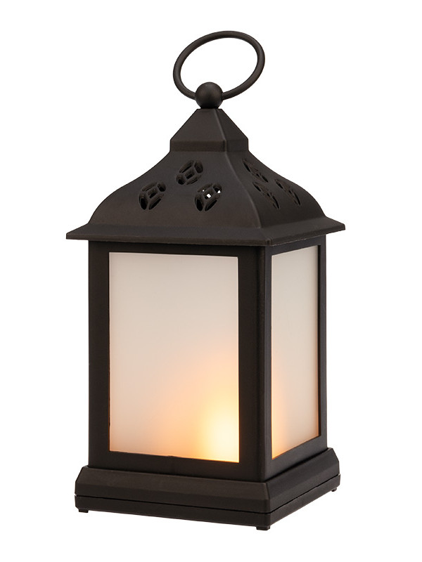 Светящееся украшение Neon-Night Декоративный фонарь 11х11х22.5cm Black 513-066