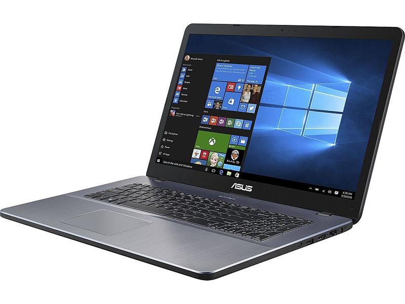 Ноутбук ASUS VivoBook X705MA Grey 90NB0IF2-M03850 (Intel Pentium Silver N5030 1.1 GHz/4096Mb/1000Gb/Intel UHD Graphics/Wi-Fi/Bluetooth/Cam/17.3/1600x900/Endless)