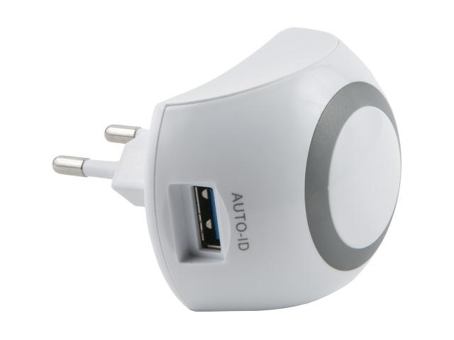 Зарядное устройство Red Line NT-3 Tech 2xUSB 2.1A White УТ000017918