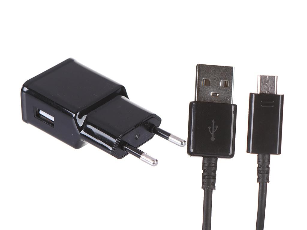 Зарядное устройство Red Line NT-2A 1xUSB 2.1A + кабель MicroUSB Black УТ000022067