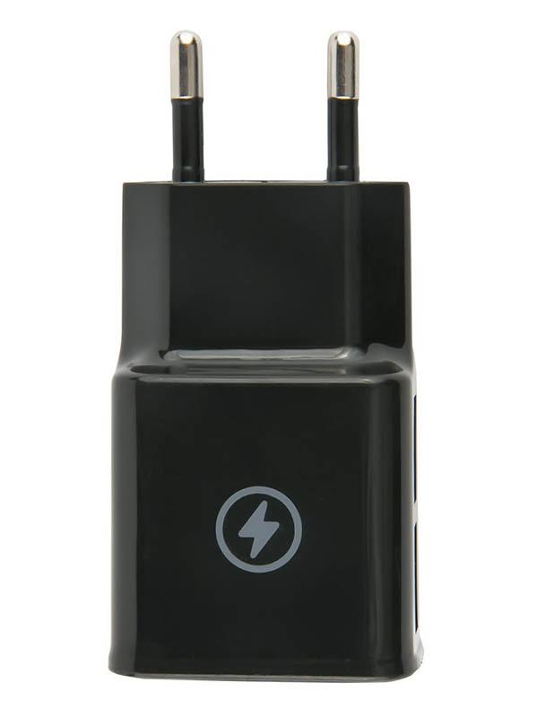 Зарядное устройство mObility mt-30 2xUSB 2.1A Black УТ000018889