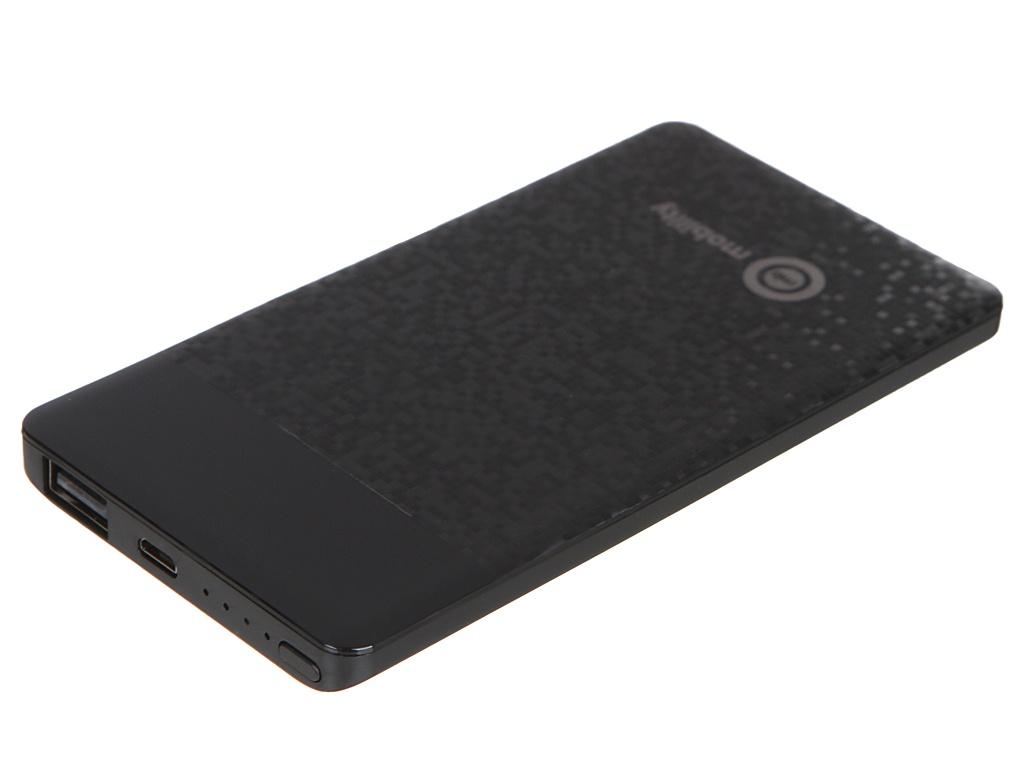Внешний аккумулятор mObility Power Bank mt-02 5000mAh Black УТ000017591