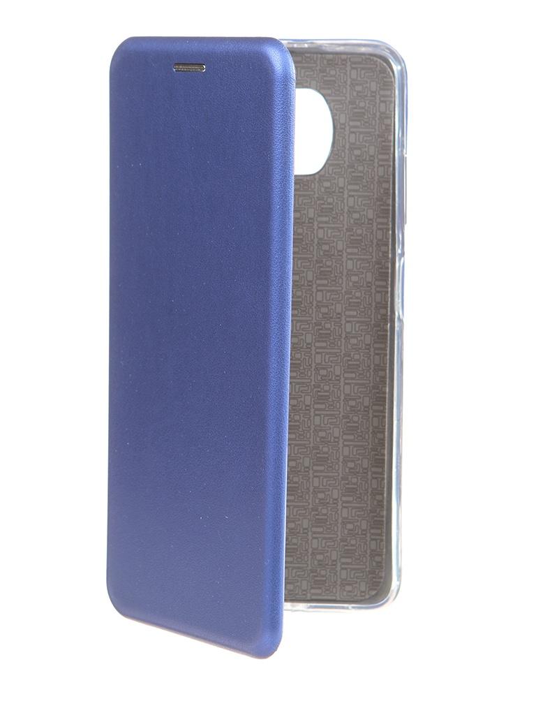 Чехол Zibelino для Xiaomi Poco X3 Book Blue ZB-XIA-X3-DBLU