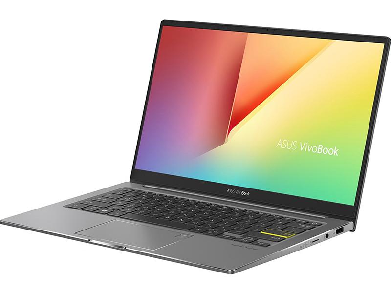 Ноутбук ASUS VivoBook S333JP-EG001T 90NB0QP4-M00930 (Intel Core i5-1035G1 1.0 GHz/8192Mb/512Gb SSD/nVidia GeForce MX330 2048Mb/Wi-Fi/Bluetooth/Cam/13.3/1920x1080/Windows 10 Home 64-bit)