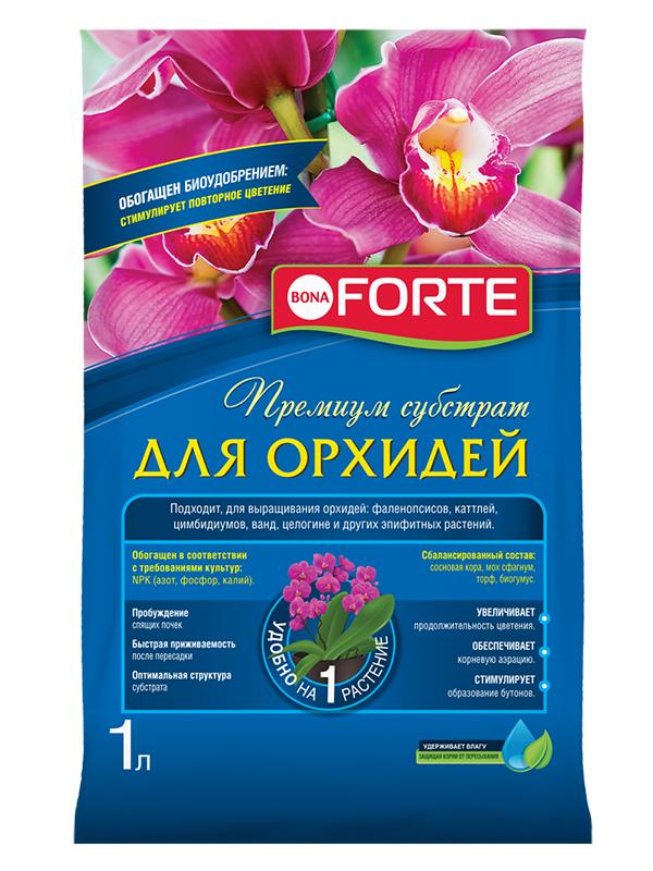 Субстрат Bona Forte для орхидей 1L BF29010191