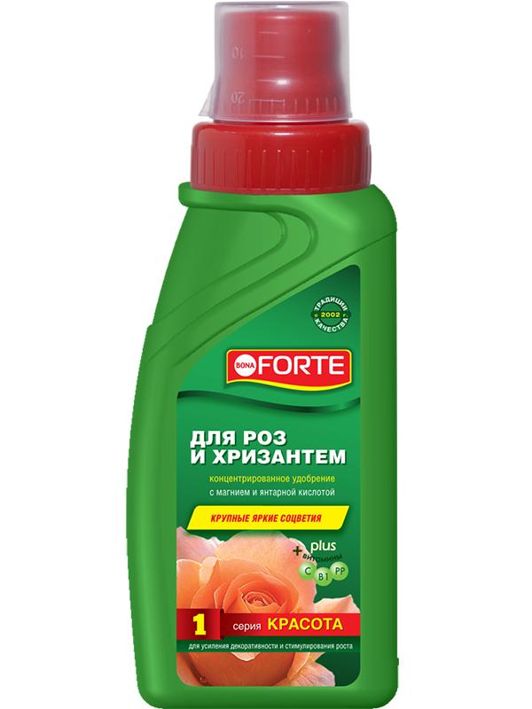 Жидкое удобрение Bona Forte Красота для роз и хризантем 285ml BF21010251