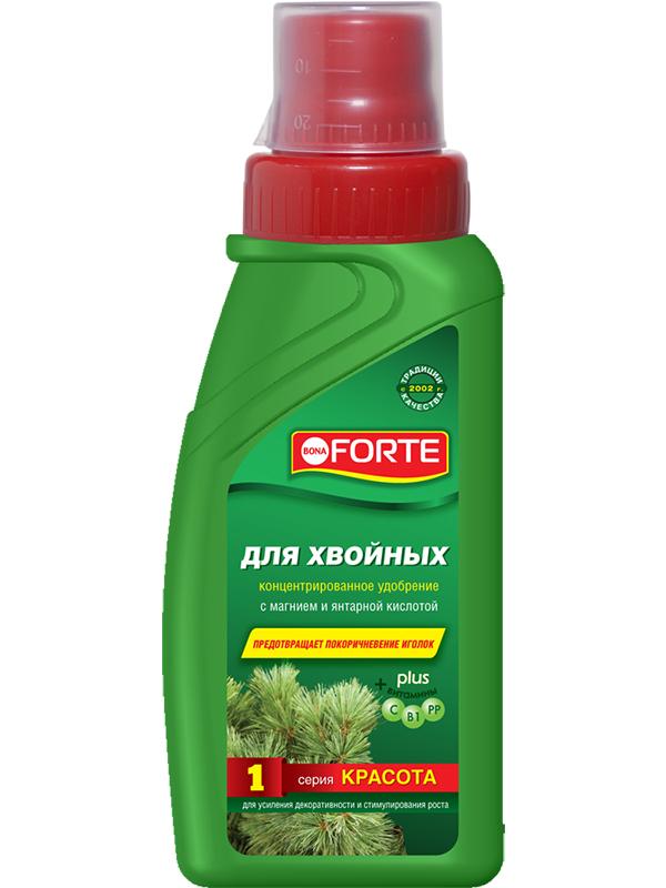 Жидкое удобрение Bona Forte Красота для хвойных растений 285ml BF21010301