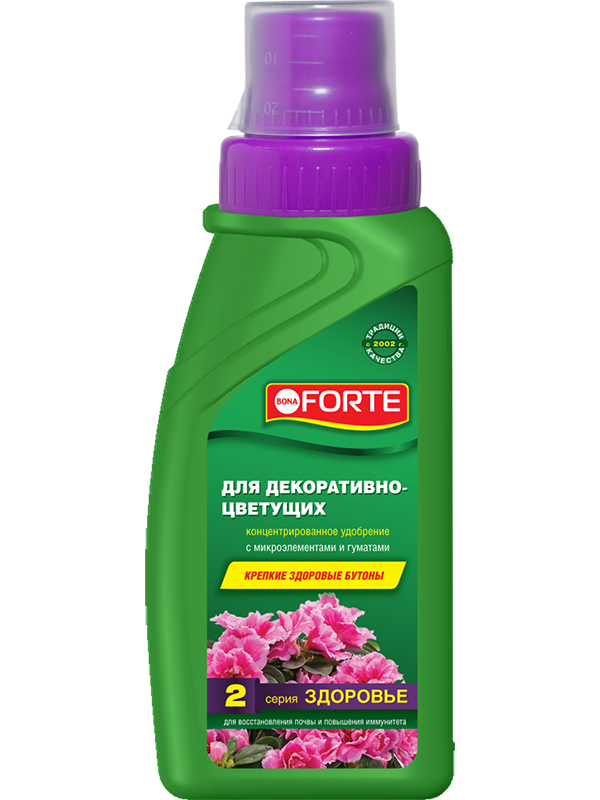 Жидкое удобрение Bona Forte Здоровье для декоративно-цветущих растений 285ml BF21060111