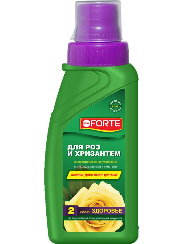 Жидкое удобрение Bona Forte Здоровье для роз и хризантем 285ml BF21060301