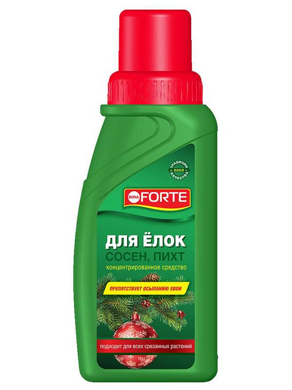 Жидкое средство Bona Forte для новогодних елей, сосен, пихт 285ml BF24010081