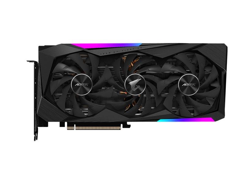 Видеокарта GigaByte Aorus GeForce RTX 3070 Master 8G 1845Mhz PCI-E 4.0 8196Mb 19500Mhz 256 bit 3xDP 3xHDMI HDCP GV-N3070AORUS M-8GD